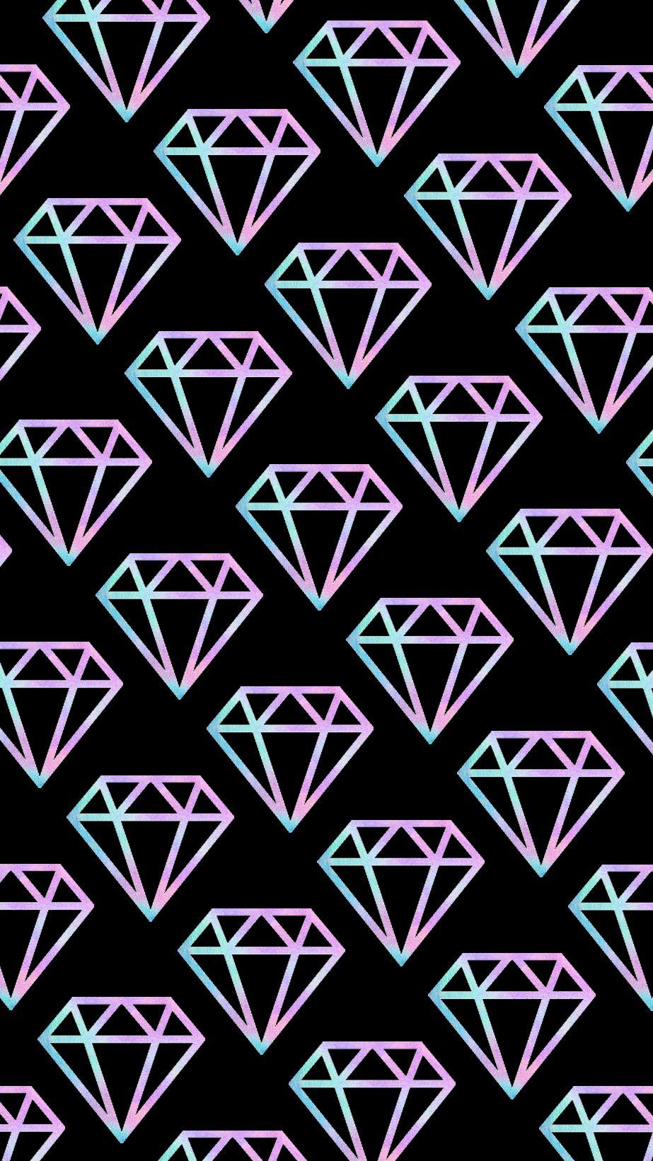 Fondo Diamante Tumbrl fondo negro