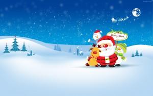 fondos navideños 2012 hd