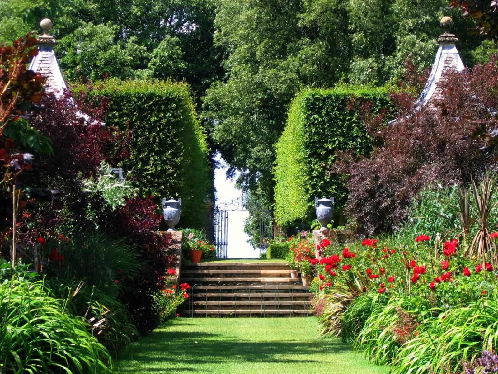 100 mejores fondos de jardines fondos de pantalla - Jardines de diseno fotos ...