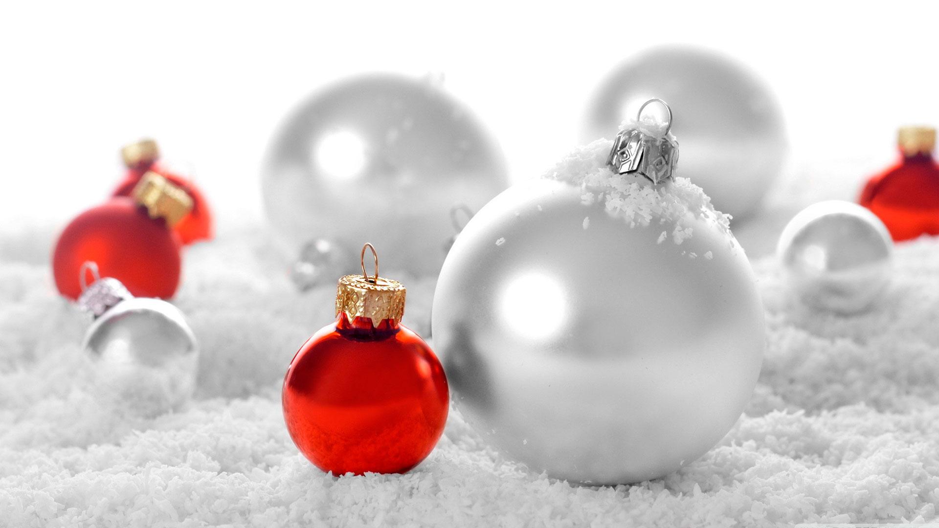 fondos con bolas de navidad