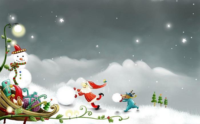 Fondos Navidad Animados Fondos De Pantalla