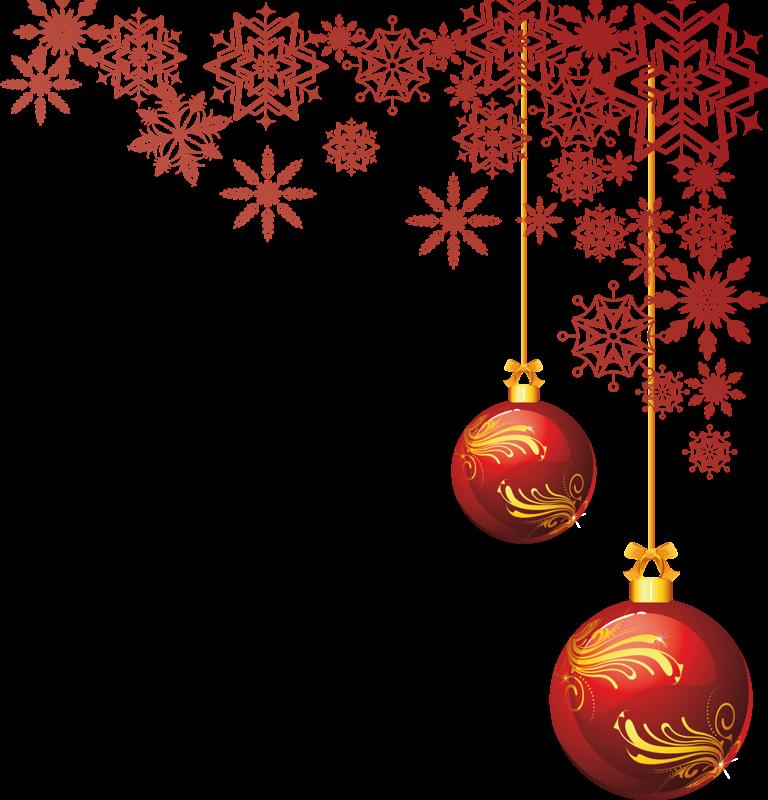 marcos navideños formato png