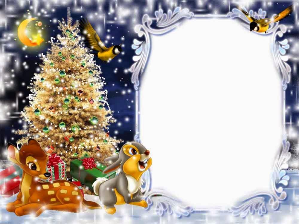 marcos de navidad para fotos photoshop