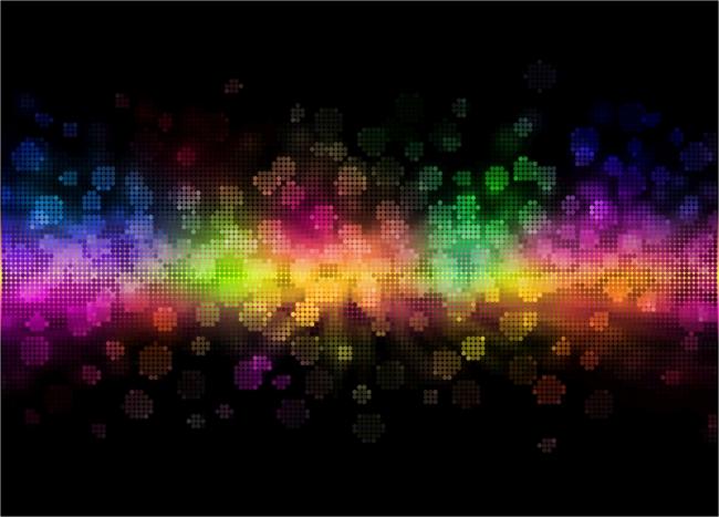 fondos de pantalla de colores neon con movimiento