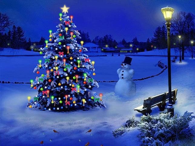 fondos de pantalla 3d navidad gratis