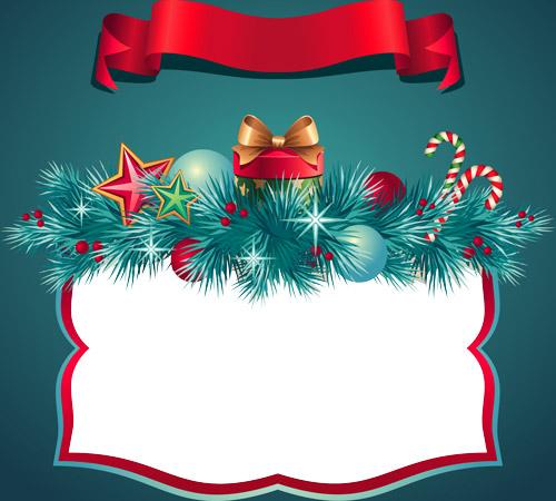 marcos de navidad para tarjetas