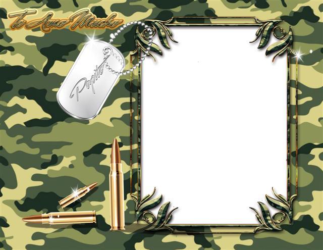 Fondos militares para fotos