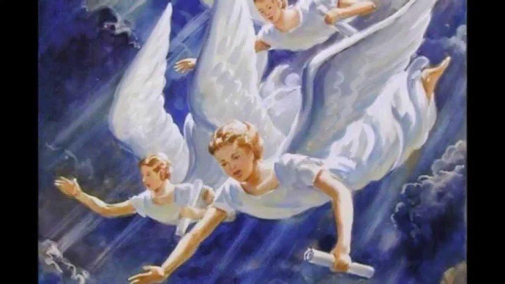 imagenes de angeles celestiales con mensajes