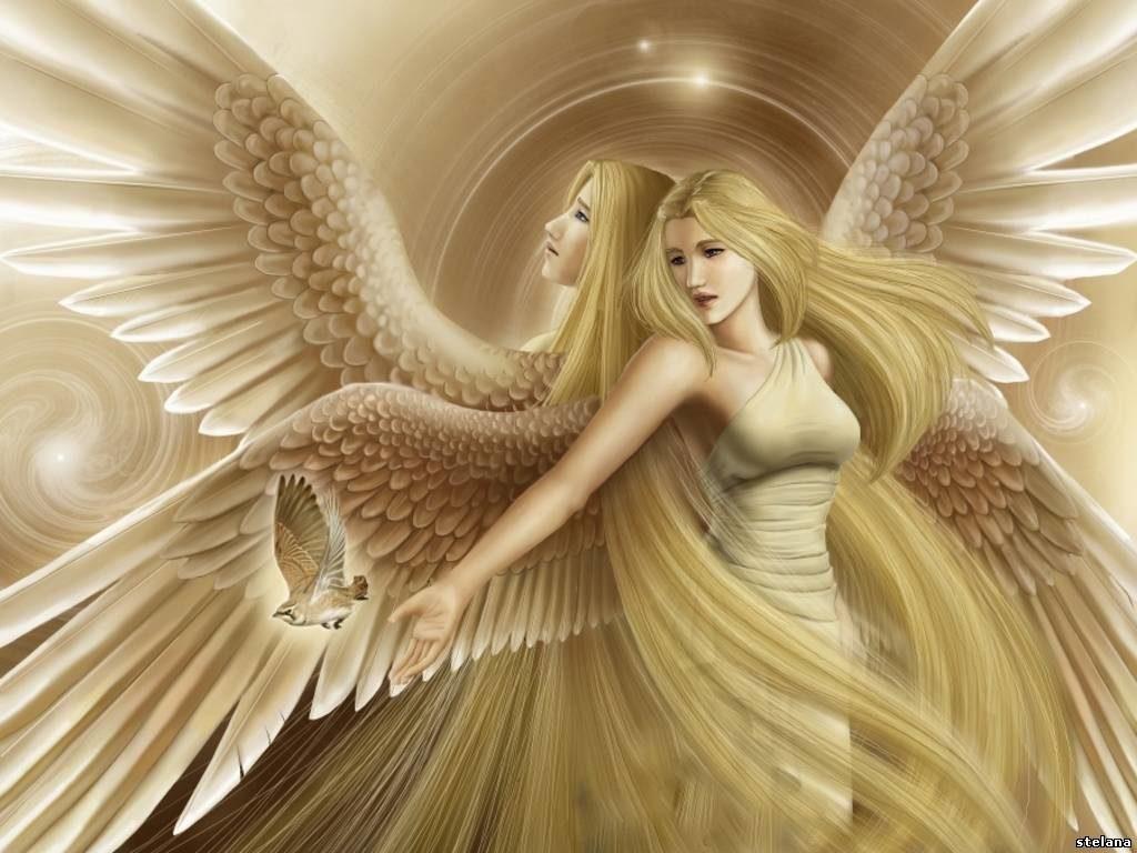 imagenes de angeles mujeres para dibujar