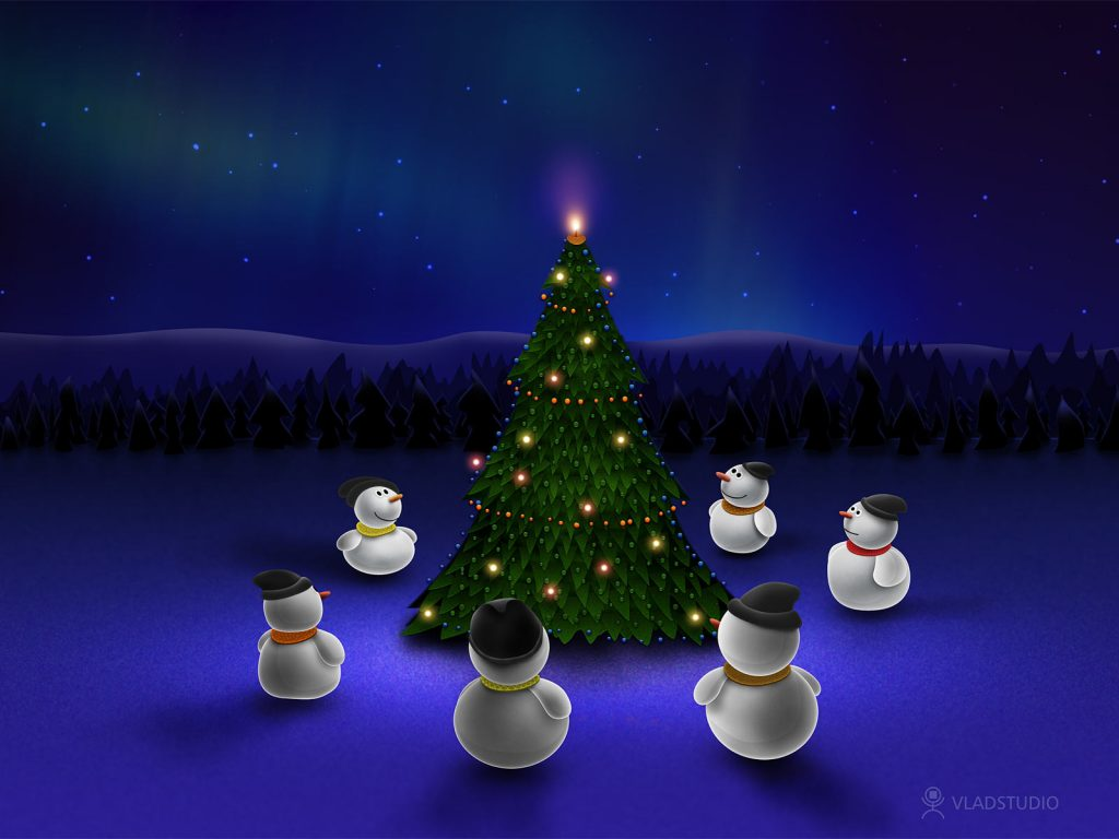 fondos de pantalla navideños animados gratis