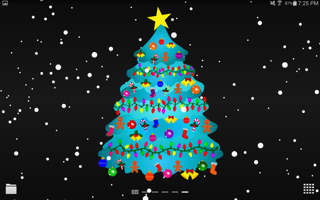 fondos de pantalla navideños animados gratis para pc