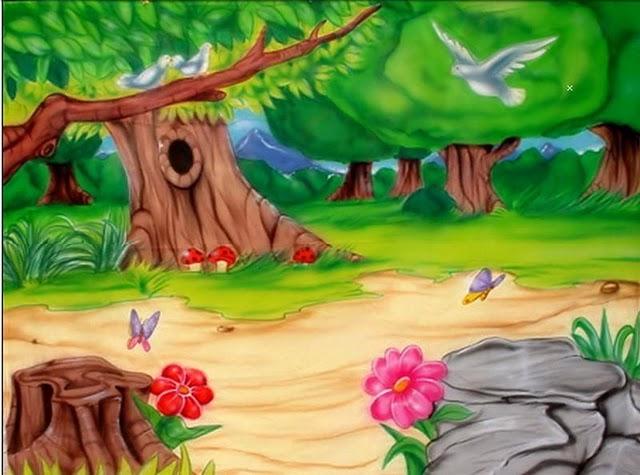 Imagen de bosque infantil