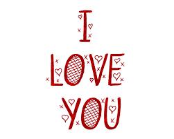 Imagen roja de amor