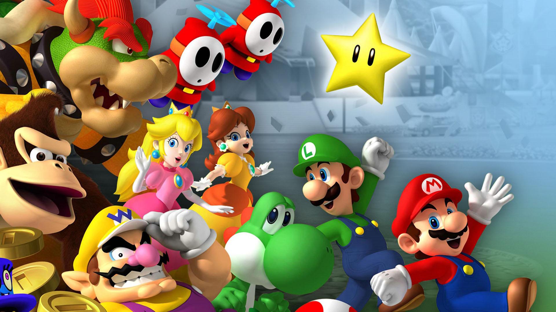 Wallpaper de Mario y Luigie