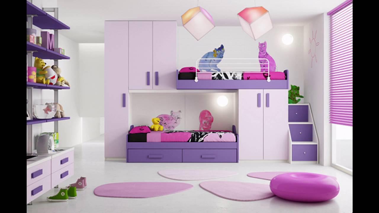 Habitacion rosa y blanco