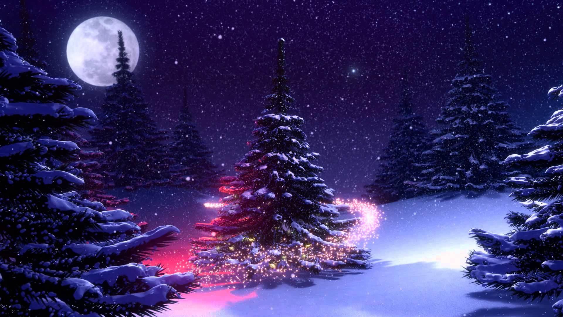 Fondos de navidad animados fondos de pantalla - Nieve para arbol de navidad ...