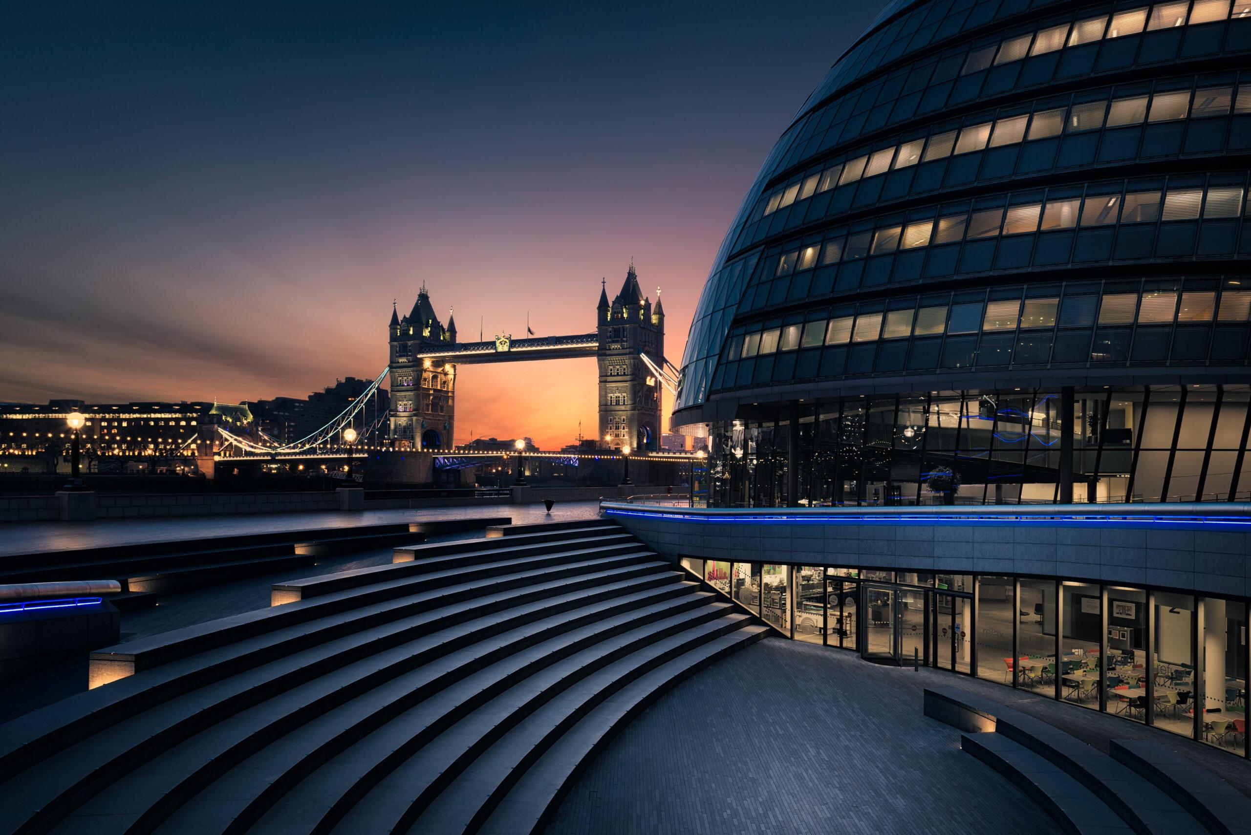 Londres al amanecer