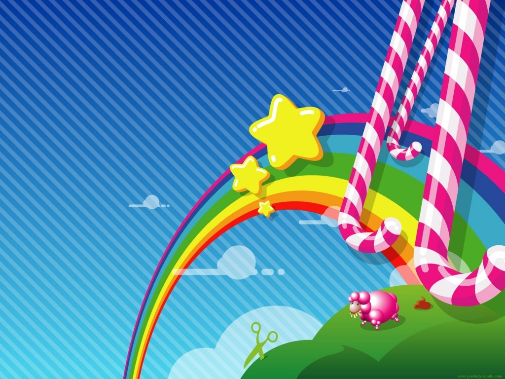 fondos de arco iris