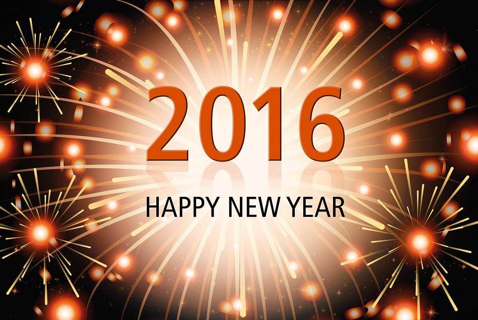 Fondos de año nuevo para Facebook