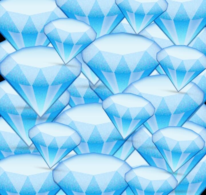 Fondo de pantalla Celeste de Diamantes