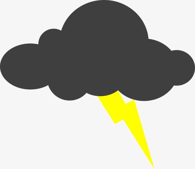 rayos electricos vector