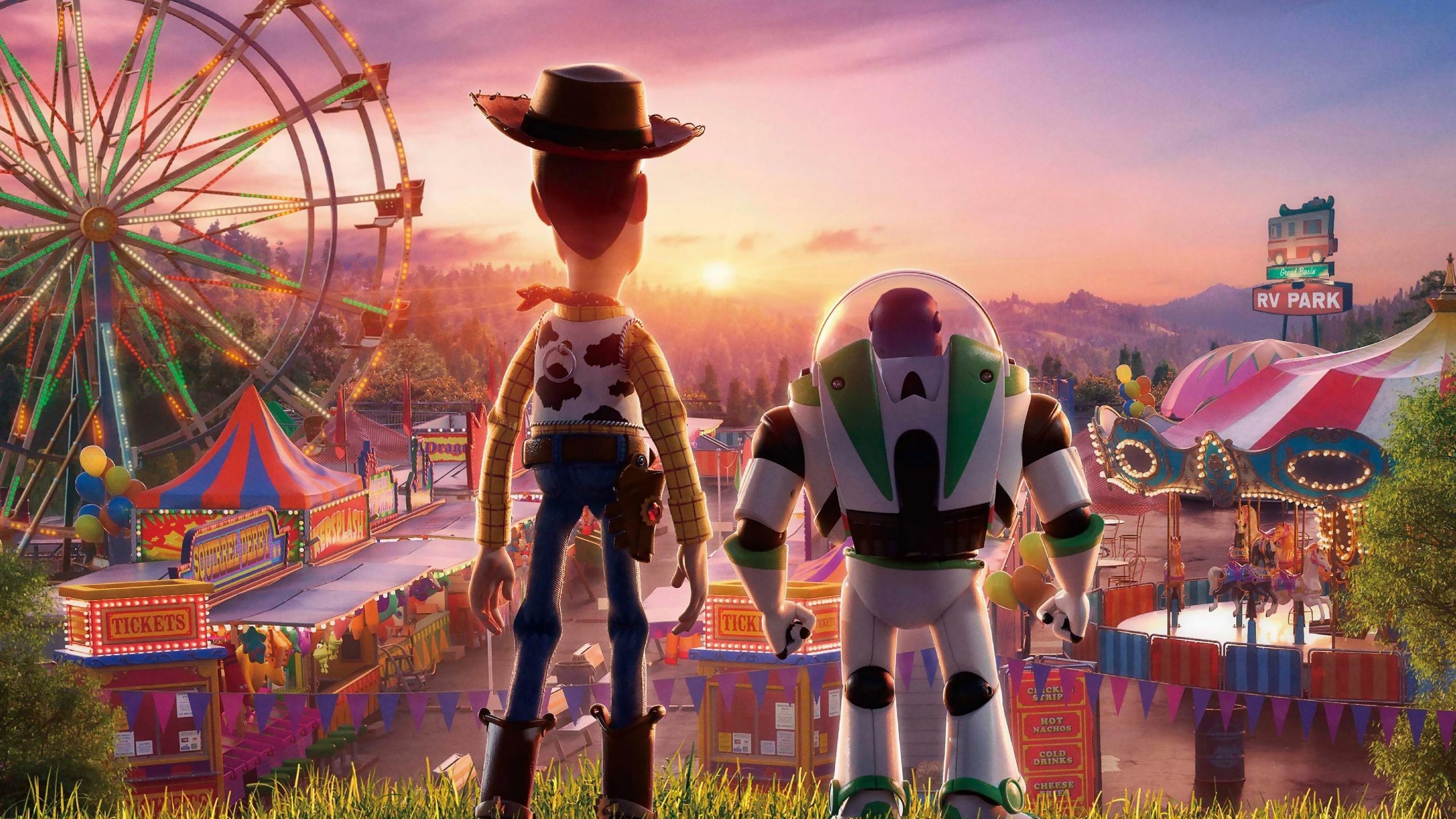 Toy Story 4 Woody y Buzz