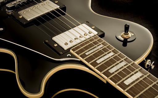 Guitarra electrica negra