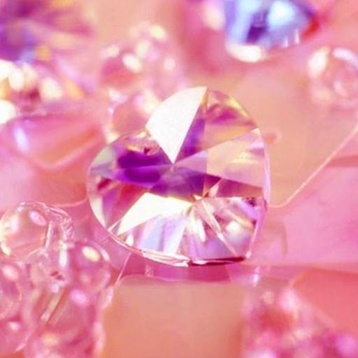 Foto de un diamante rosa
