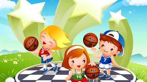 Fondo de juegos para niños