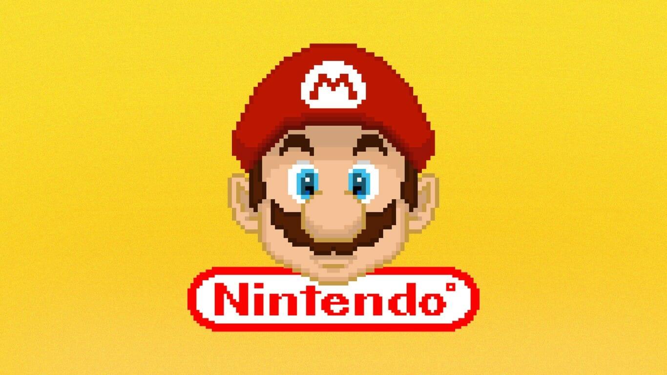 Fondo depantalla Mario Bros Pixel