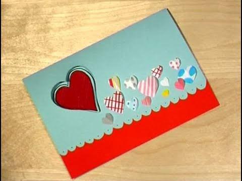 cómo hacer tarjetas de san valentín para niños