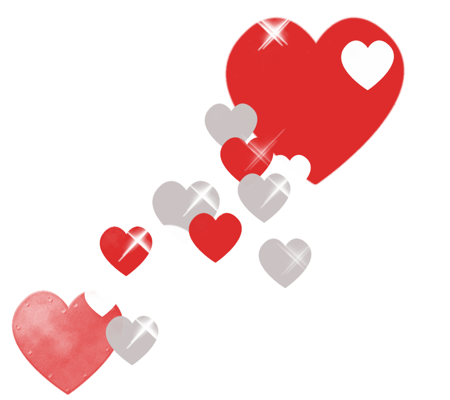 corazones png tumblr