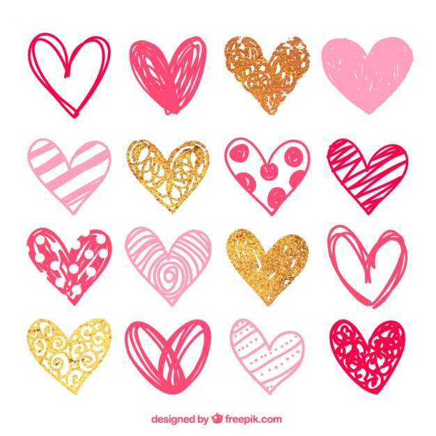 corazones vector free download