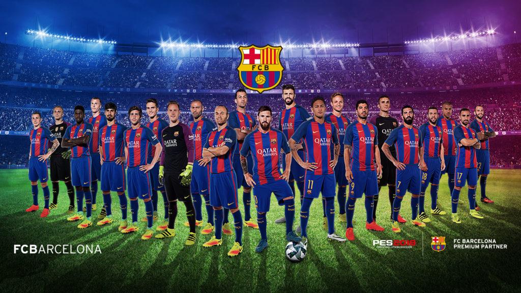 fondos de pantalla del barcelona 2018