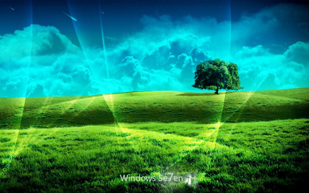 Paisaje Windows 7