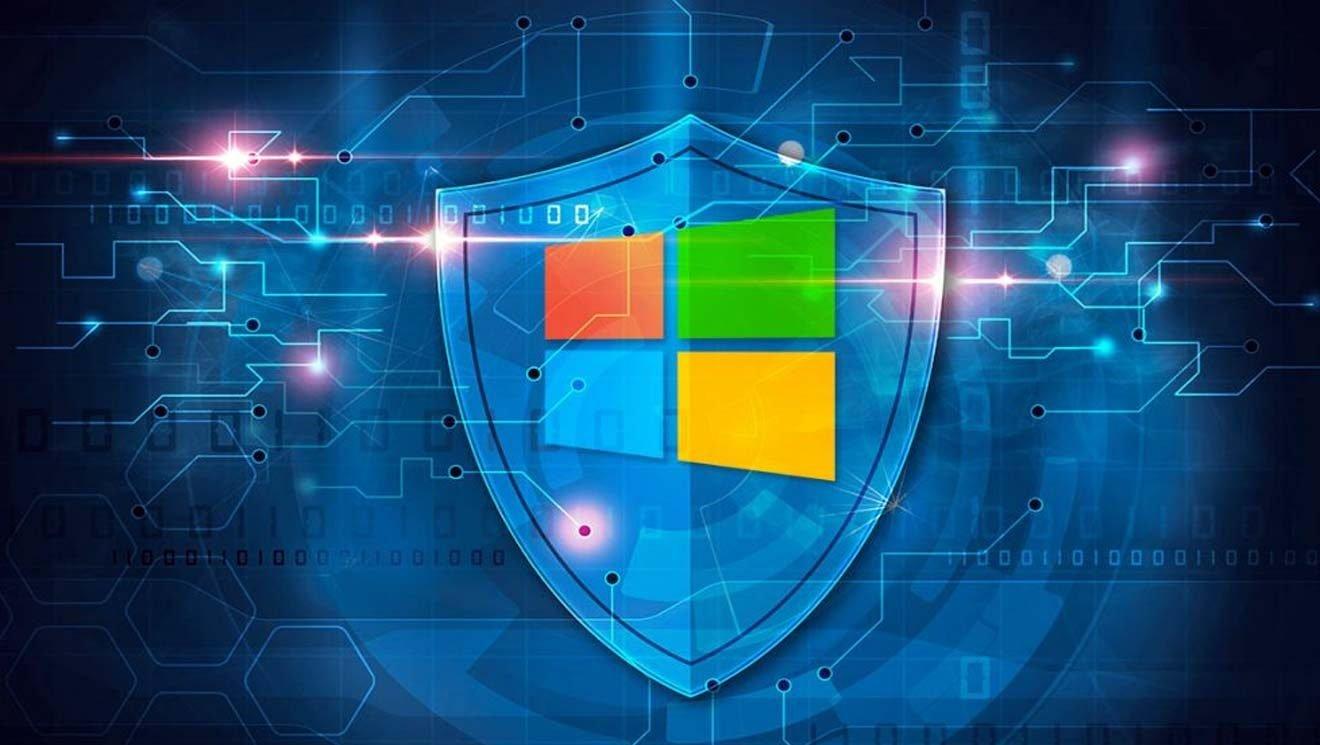 Windows 10 fondo de seguridad