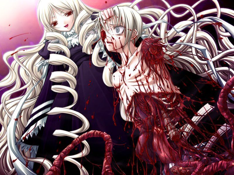 imagenes de anime gore sangriento