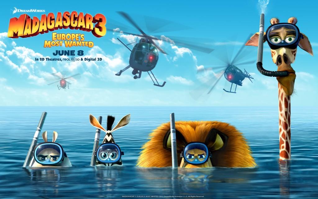 Madagascar 3fondos de pantalla
