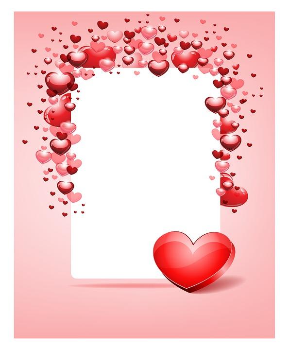 marco san valentín vector