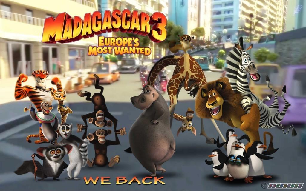 Protectores de pantalla de Madagascar 3