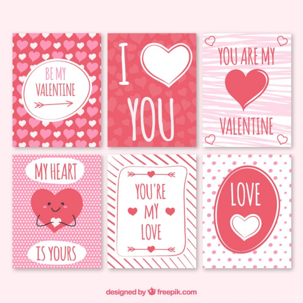 tarjetas de san valentin en ingles para imprimir