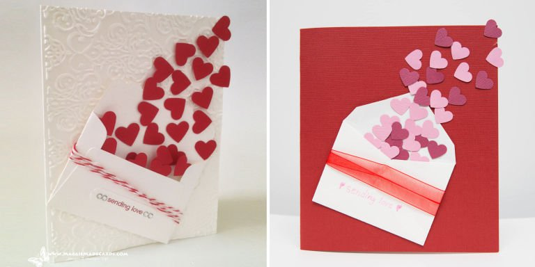 tarjetas de san valentin hechas a mano para hombres