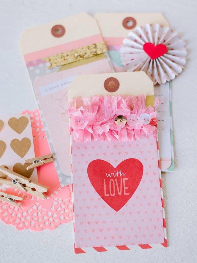 tarjetas del dia del amor y la amistad hechas a mano
