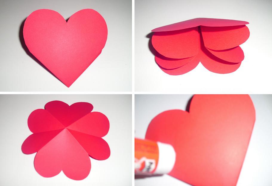 pop up plantillas de corazon