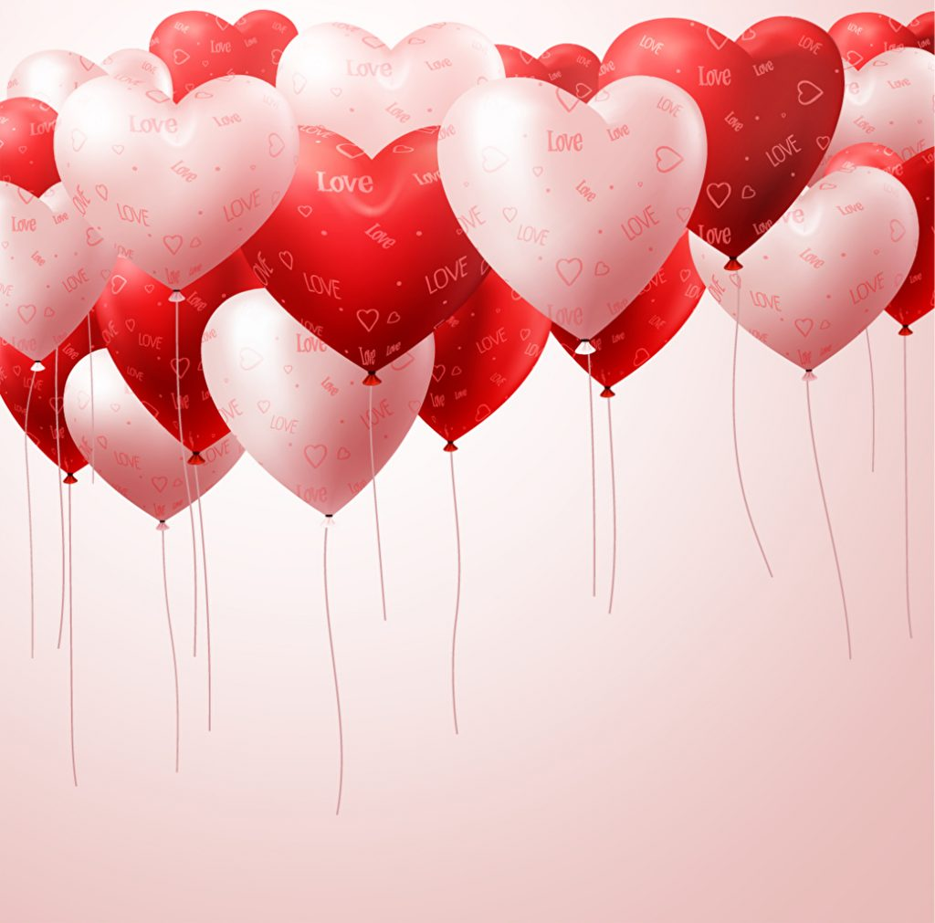 fondo san valentin vector