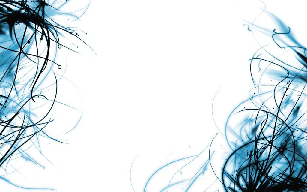 fondos de pantalla blancos con azul