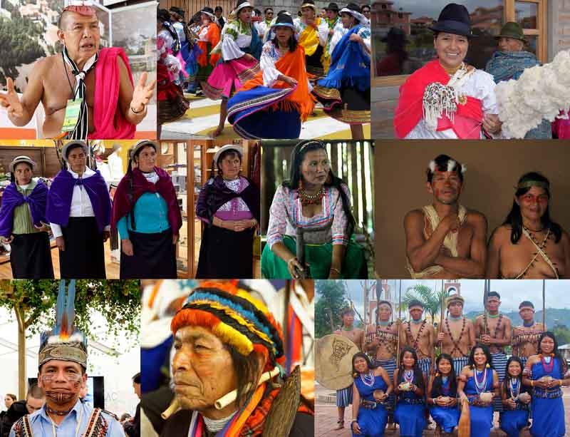 Ecuador grupos étnicos