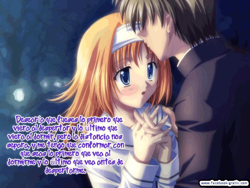 imagenes de anime de amor para facebook