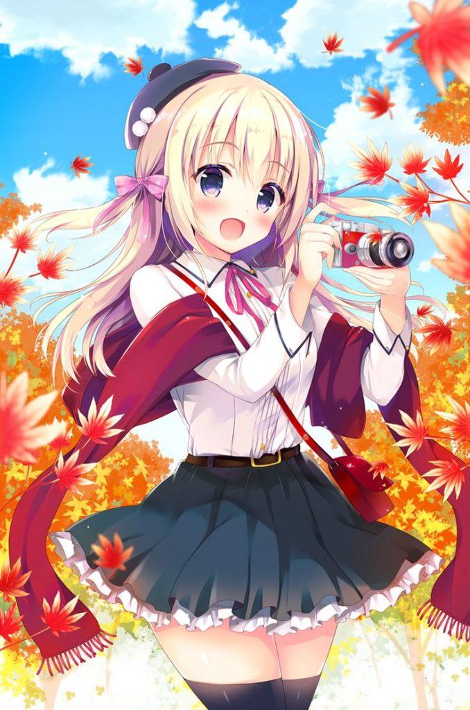 imagenes de anime kawaii con frases