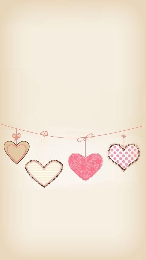 fondos para whatsapp de corazones de colores